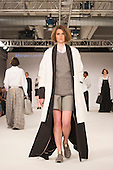 Collection by Morven Leenhouts from the University of Salford. Graduate Fashion Week 2014, Runway Show at the Old Truman Brewery in London, United Kingdom. Photo credit: Bettina Strenske