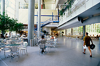 1997  File Photo - Montreal (qc) CANADA -  HEC Cafeteria
