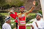 Loic Chetout (FRA) Cofidis takes over the most agressive riders Gold Jersey of the 2018 Tour of Oman running 167.5km from Sultan Qaboos University to Al Bustan. 14th February 2018.<br /> Picture: ASO/Muscat Municipality/Kare Dehlie Thorstad | Cyclefile<br /> <br /> <br /> All photos usage must carry mandatory copyright credit (&copy; Cyclefile | ASO/Muscat Municipality/Kare Dehlie Thorstad)