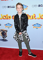 "05 August  2017 - Los Angeles, California - Parker Bates.  World premiere of ""Nut Job 2: Nutty by Nature""  held at Regal Cinema at L.A. Live in Los Angeles. Photo Credit: Birdie Thompson/AdMedia"
