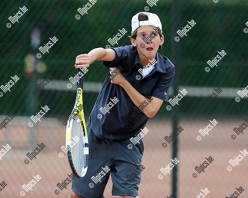 2012-07-31 / Tennis / seizoen 2012 / Max Van Nunen..Foto: Mpics.be