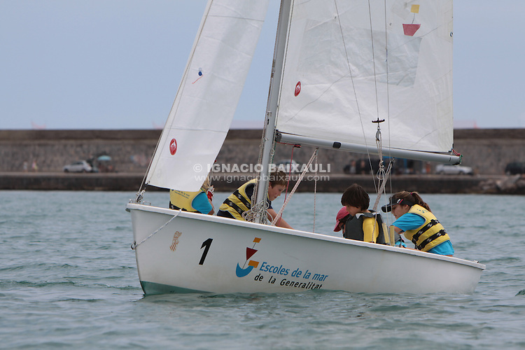 Final Jocs Esportius Vela, Escola de la Mar, Burriana, Castellón