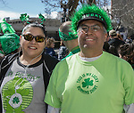 A photograph taken during the Shamrock Shuffle 5k fun run in Sparks on Saturday, March 4, 2017.