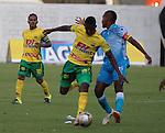 Jaguares de Córdoba y Atlético Huila igualaron a un gol en el estadio Municipal de Montería, por la segunda fecha del Torneo Clausura 2015.