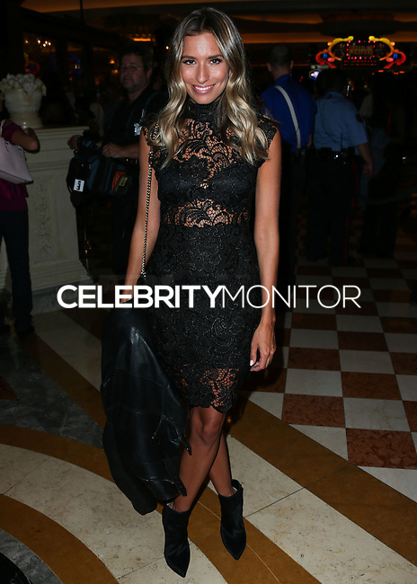 LAS VEGAS, NV, USA - OCTOBER 24: Renee Bargh arrives at Kim Kardashian's 34th Birthday Celebration held at TAO Las Vegas on October 24, 2014 in Las Vegas, Nevada, United States. (Photo by Xavier Collin/Celebrity Monitor)