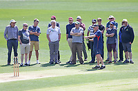 Essex head groudsman Stuart Kerrison takes spectators on a tour of the square during Essex CCC vs Nottinghamshire CCC, Specsavers County Championship Division 1 Cricket at The Cloudfm County Ground on 15th May 2019