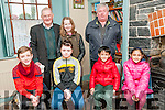 Felie Feabhra: Taking part in the Corah Gaelge workshop  at the annual Feile Feabhra organised by the Lixnaw branch of CCE at the Ceolan Centre, Lixnaw on Saturday last were in front Conor O'Brien, Clodagh Brady & Shane & Priya O'Donovan. Back : Pat Joe Dennehy, Aideen Quinlan & Paidau Mharthan Mac Gearailt.