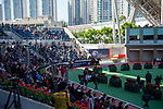 SHA TIN, HONG KONG – December 8: Parade Ring on Longines Hong Kong International Race Meeting at Sha Tin Racecourse in Hong Kong. Michael McInally/Eclipse Sportswire/CSM