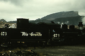 D&amp;RGW #473 switching in Durango.<br /> D&amp;RGW  Durango, CO