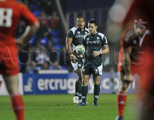09.10.2010. Heineken Cup London Irish vs Munster  Round 1at Madejski Stadium, Reading, England. Ryan Lamb of London Irish