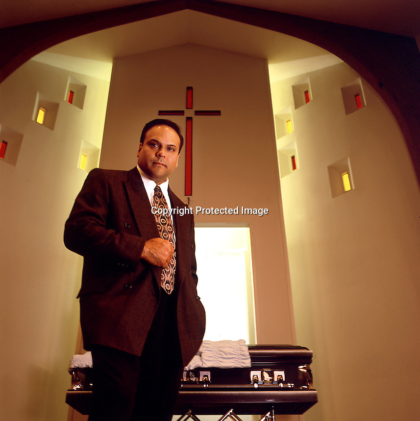 Funeral Director. Corpus Christi, TX<br /> Photo by Chris Covatta