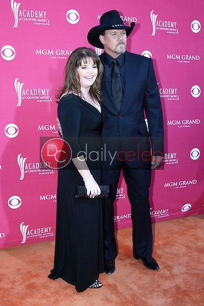 Trace Adkins and wife Rhonda<br />