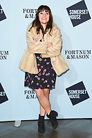 Vikki Stone<br /> arriving for the Skate at Somerset House 2017 opening, London<br /> <br /> <br /> ©Ash Knotek  D3351  14/11/2017