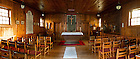 May 17, 2012; Log Chapel interior..Photo by Matt Cashore/University of Notre Dame