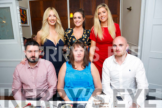 Margaret Burke and Simon Dalton, Curraheen Celebrating birthdays with family at Denny Lane on Saturday Pictured front l-r Billy Burke, Margaret Burke, Simon Dalton Back l-r Sarah Burke, Jackie Dalton and Katie Burke