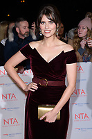 Ellie Taylor at the National Television Awards 2018 at the O2 Arena, Greenwich, London, UK. <br /> 23 January  2018<br /> Picture: Steve Vas/Featureflash/SilverHub 0208 004 5359 sales@silverhubmedia.com