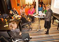 14-12-12, Rotterdam, Tennis, Masters, Prijsuitreiking Rolstoel Paralympiers
