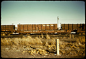 #6701 flat car in Alamosa.<br /> D&amp;RGW  Alamosa, CO