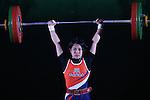 Ayana Sadoyama, <br /> MAY 21, 2016 - Weightlifting : <br /> All Japan Weightlifting Championship 2016 Women's -53kg <br /> at Yamanashi Municipal Gymnasium, Yamanashi, Japan. <br /> (Photo by AFLO SPORT)