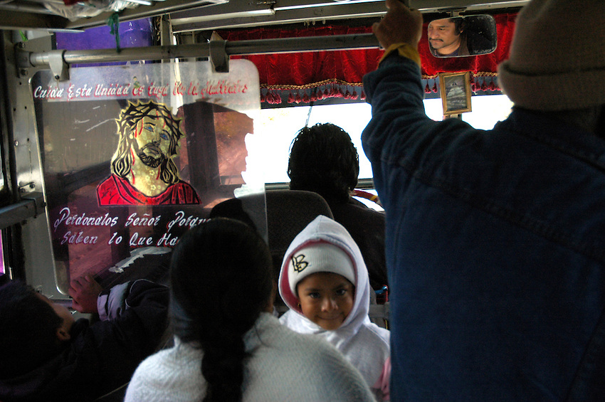 "..""On the bus between the Pueblos Mancomunados and Oaxaca City"""