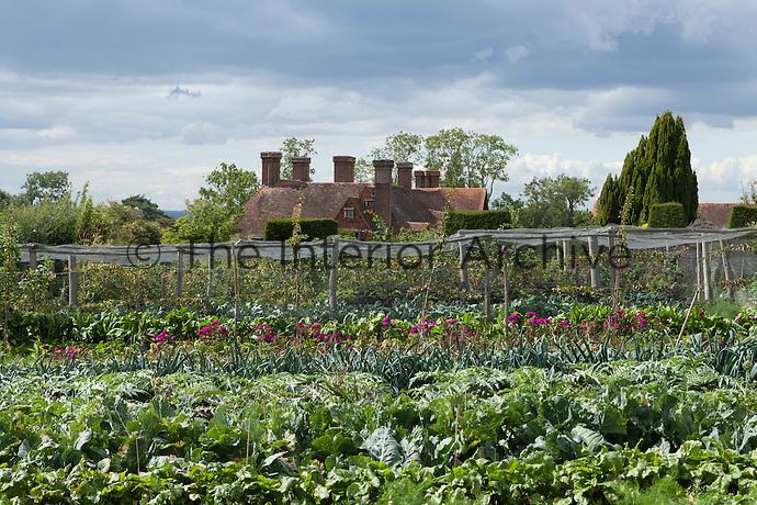 The vegetable garden at Great Dixter