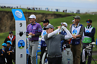 Matthew Fitzpatrick (ENG) during the first round of the AT&amp;T Pro-Am, Pebble Beach Golf Links, Monterey, California, USA. 07/02/2019<br /> Picture: Golffile | Phil Inglis<br /> <br /> <br /> All photo usage must carry mandatory copyright credit (&copy; Golffile | Phil Inglis)