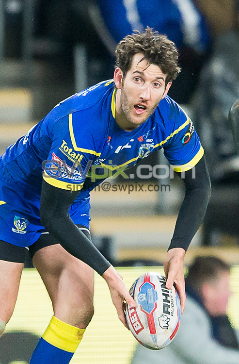 Picture by Allan McKenzie/SWpix.com - 02/03/2018 - Rugby League - Betfred Super League - Hull FC v Warrington Wolves - KC Stadium, Kingston upon Hull, England - Stefan Ratchford.