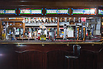 "© Joel Goodman - 07973 332324 . 14/03/2014 . White Horse Pub , Gilda Brook Road , Eccles M30 0DX , UK . Interior GV General View of the pub . Landlady Bernadette "" Babs "" Harvieu (52 , correct) is unable to renew her contract with Robinsons brewery . Photo credit : Joel Goodman"