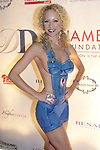 Model/actress Tammy Jean with hand painted body art by Kerry Ann Smith attends the Hamels Foundation which presents Diamonds & Denim on August 27, 2012 at the Crystal Tea Room, Philadelphia, Pennsylvania.  (Photo by Sue Coflin/Max Photos)