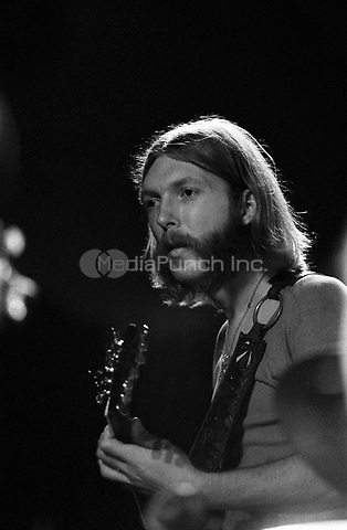 Duane Allman of The Allman Brothers performing at the Sunset concert series 'Summerthing' in Boston on the Common in Boston, MA in the summer of 1971.<br /> *** NEVER BEFORE PUBLISHED PHOTOS ***<br /> © Peter Tarnoff / MediaPunch