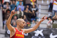Spain Albert Oliver during FIBA European Qualifiers to World Cup 2019 between Spain and Slovenia at Coliseum Burgos in Madrid, Spain. November 26, 2017. (ALTERPHOTOS/Borja B.Hojas) /NortePhoto NORTEPHOTOMEXICO