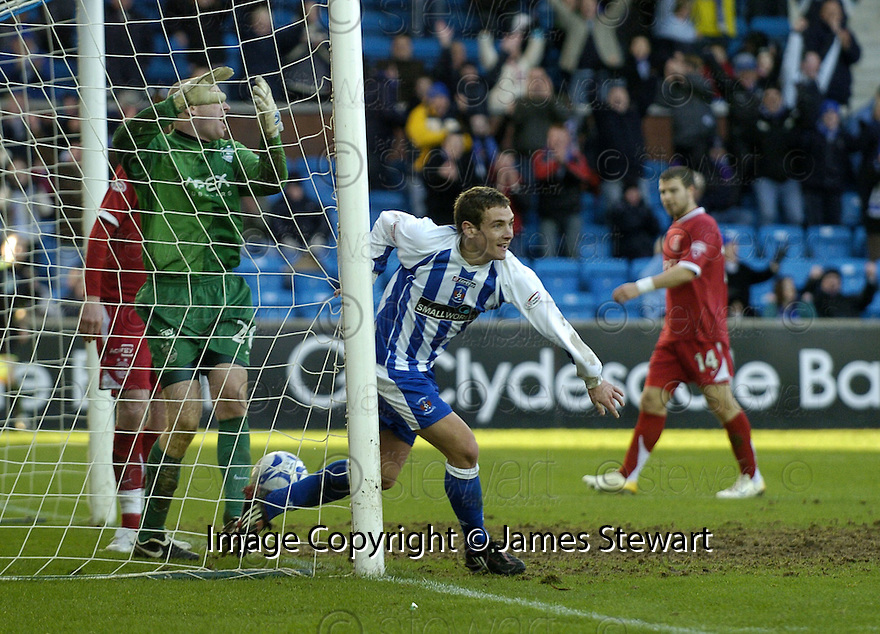 24/02/2008    Copyright Pic: James Stewart.File Name : sct_jspa10_kilmarnock_v_aberdeen.CRAIG BRYSON CELEBRATES AFTER HE SCORES KILMARNOCK'S THIRD.James Stewart Photo Agency 19 Carronlea Drive, Falkirk. FK2 8DN      Vat Reg No. 607 6932 25.Studio      : +44 (0)1324 611191 .Mobile      : +44 (0)7721 416997.E-mail  :  jim@jspa.co.uk.If you require further information then contact Jim Stewart on any of the numbers above........