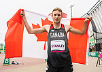 Lima, Peru -  25/August/2019 -  Liam Stanley competes in men's 400m T37 at the Parapan Am Games in Lima, Peru. Photo: Dave Holland/Canadian Paralympic Committee.
