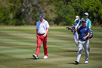 Trey Mullinax (USA) approaches the green on 2 during Round 4 of the Valero Texas Open, AT&amp;T Oaks Course, TPC San Antonio, San Antonio, Texas, USA. 4/22/2018.<br /> Picture: Golffile | Ken Murray<br /> <br /> <br /> All photo usage must carry mandatory copyright credit (&copy; Golffile | Ken Murray)