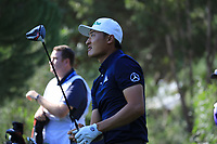 Haotong Li (CHN) during the second round of the Turkish Airlines Open, Montgomerie Maxx Royal Golf Club, Belek, Turkey. 08/11/2019<br /> Picture: Golffile | Phil INGLIS<br /> <br /> <br /> All photo usage must carry mandatory copyright credit (© Golffile | Phil INGLIS)