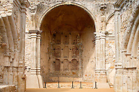 Remains Of The Great Stone Church At The Historic Mission San Juan Capistrano, Orange County, California