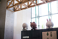 The headquarters of the South Korean giant Naver  in Bundang, south of Seoul, South Korea.<br /> <br /> photo by Sang Moo Han / Sinopix