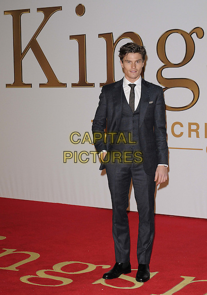 LONDON, ENGLAND - JANUARY 14: Oliver Cheshire attends the &quot;Kingsman: The Secret Service&quot; world film premiere, Odeon Leicester Square cinema, Leicester Square, on Wednesday January 14, 2015 in London, England, UK. <br /> CAP/CAN<br /> &copy;CAN/Capital Pictures