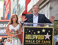 LOS ANGELES, CA. August 11, 2016: Roma Downey &amp; Rick Warren at Hollywood Walk of Fame Star ceremony for actress Roma Downey. <br /> Picture: Paul Smith / Featureflash