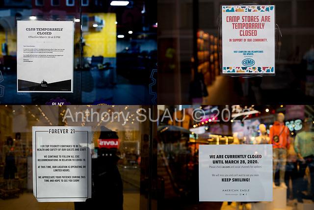 Brooklyn, New York<br /> March 18, 2020<br /> 7:51 AM<br /> <br /> Brooklyn under coronavirus pandemic.
