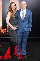 "HOLLYWOOD, LOS ANGELES, CA, USA - MAY 08: Sandra Corddry, Rob Corddry at the Los Angeles Premiere Of Warner Bros. Pictures And Legendary Pictures' ""Godzilla"" held at Dolby Theatre on May 8, 2014 in Hollywood, Los Angeles, California, United States. (Photo by Xavier Collin/Celebrity Monitor)"