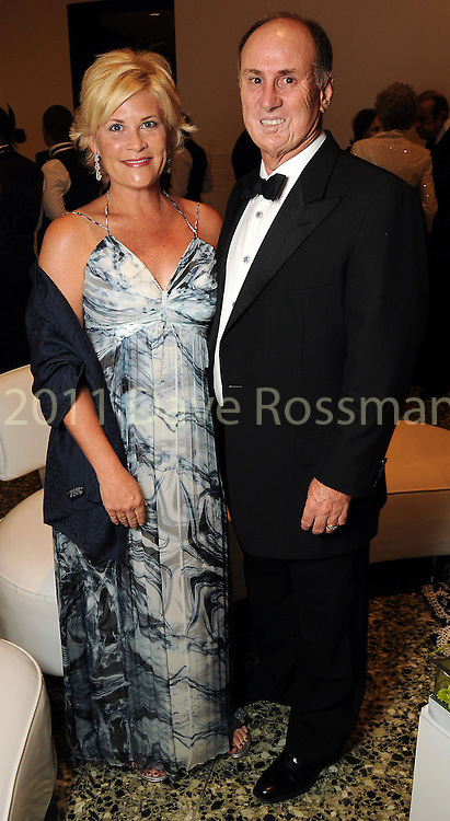 Kelli and Eddy Blanton at the Museum of Fine Arts Houston 's 2010 Grand Gala Ball  Friday Oct. 01, 2010. (Dave Rossman/For the Chronicle)