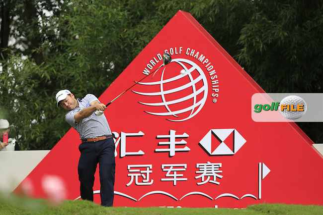 Richard Sterne (RSA) on the 2nd during the final round of the WGC-HSBC Champions, Sheshan International GC, Shanghai, China PR.  30/10/2016<br /> Picture: Golffile | Fran Caffrey<br /> <br /> <br /> All photo usage must carry mandatory copyright credit (&copy; Golffile | Fran Caffrey)