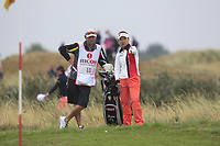 Teresa Lu (TPE) on the 17th during Round 2 of the Ricoh Women's British Open at Royal Lytham &amp; St. Annes on Friday 3rd August 2018.<br /> Picture:  Thos Caffrey / Golffile<br /> <br /> All photo usage must carry mandatory copyright credit (&copy; Golffile | Thos Caffrey)