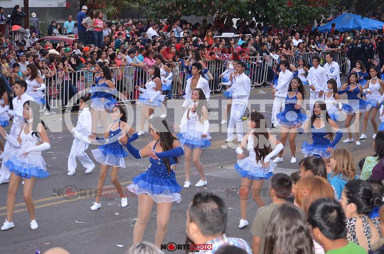 la Vedette mexicana, Maribel Gardia en el Carnaval de Guaymas2014.<br /> <br /> Credit:NortePhoto.com
