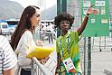 Volunteer, <br /> AUGUST 4, 2016 -  : <br /> Rio 2016 Olympic Games in Rio de Janeiro, Brazil. <br /> (Photo by Sho Tamura/AFLO SPORT)