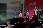 The Team Presentation before the 101st edition of the Giro d'Italia 2018. Jerusalem, Israel. 3rd May 2018.<br /> Picture: LaPresse/Marco Alpozzi | Cyclefile<br /> <br /> <br /> All photos usage must carry mandatory copyright credit (&copy; Cyclefile | LaPresse/Marco Alpozzi)