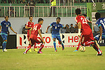 Afghanistan vs India during the 2015 AFC Cup 2015 Final match on September 11, 2015 at the Dasarath Rangasala Stadium in Kathmandu, Nepal. Photo by World Sport Group