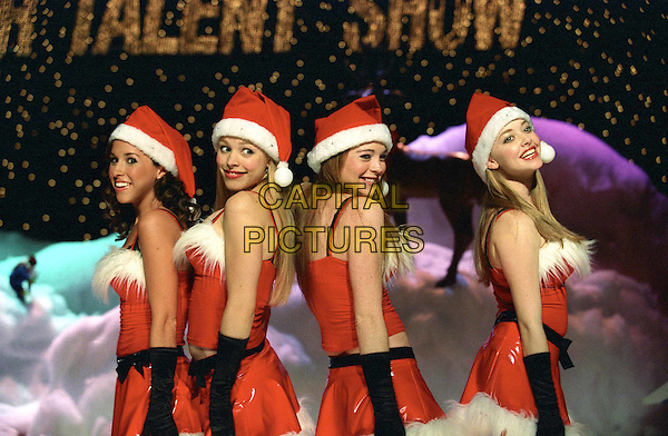 LACEY CHABERT, RACHEL MCADAMS, LINDSAY LOHAN & AMANDA SEYFRIED.in Mean Girls.Filmstill - Editorial Use Only.CAP/AWFF.supplied by Capital Pictures