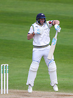 Picture by Alex Whitehead/SWpix.com - 22/04/2018 - Cricket - Specsavers County Championship Div One - Yorkshire v Nottinghamshire, Day 3 - Emerald Headingley Stadium, Leeds, England - Yorkshire's Tim Bresnan bats.